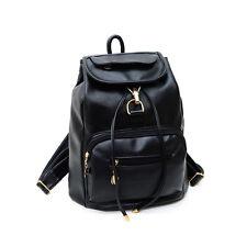 New Vintage Women's Backpack Travel Leather Handbag Rucksack Shoulder School Bag