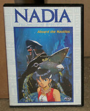 Nadia Secret of the Blue Water Volume 3 Aboard the Nautilus DVD With Insert