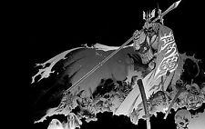 Lámina-japonés samurai Grim Reaper (Foto Afiche Arte Oriental Muerte)