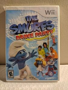 The Smurfs Dance Party (Nintendo Wii, 2011) New, Factory Sealed