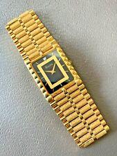 EXCELLENT BULOVA T7 GOLD TONE DIAMOND DIAL MENS DRESS QUARTZ WATCH - WORKS GREAT