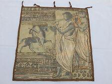 Vintage French Egyptian Scene Tapestry 56x61cm T741