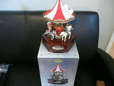 Mr Christmas 1999 Gold Label Millennium Merry Go Round New in Box