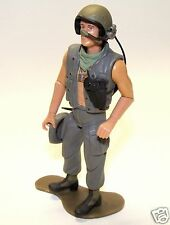 1:18 Ultimate Soldier 21st Century Huey Helicopter Pilot / Tank Crew Figure