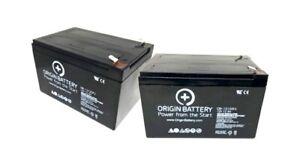 Bladez XTR Comp 2 Battery Kit, Also Fits Bladez XTR Comp 450 - 2 Pack 12V 12AH