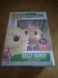 Funko Pop Married With Children Kelly Bundy #690 Signed Christina Applegate COA