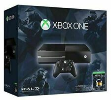 Microsoft Xbox One Limited Halo Edition 500GB Black plus Games