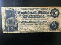 Vintage 1960's Civil War Confederate Currency Replica - Parchment!