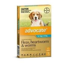 advocate 1891271 Fleas, Heartworm and Worms Treatment for Dogs