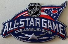 2015 ALL STAR GAME PATCH NHL HOCKEY COLUMBUS OHIO BLUE JACKETS PUCK STYLE CHAMPS