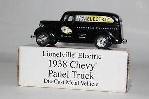 ERTL DIECAST LIONEL 1938 CHEVROLET PANEL TRUCK, LIONELVILLE ELECTRIC, BOXED