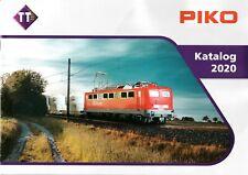 PIKO - TT - 2020 CATALOG & TILLIG FALL 2020 NEW ITEMS CATALOG (GERMAN VERSIONS)