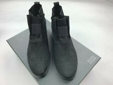 Eileen Fisher Soul Tumbled Nuback Bootie Ankle Soft Leather Boots Women 9 NWB
