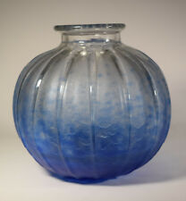 Schneider Art Deco Glass Vase