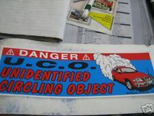 Danger  Unidentified Circling Ute bns B&S bar Sticker