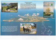 Norfolk Island Telecom Foenkaad - 1st Issue Limited Edition 3 Phonecard Pack