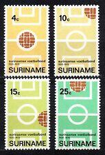 Suriname - 1970 50 years Surinam soccer union Mi. 584-87 MNH