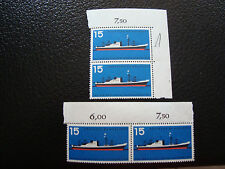 GERMANIA (rfg) - francobollo - yvert e tellier n° 136 x4 n (A5) stamp (Z)