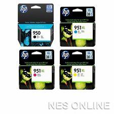 1x HP 950BK+3x 951XL C/M/Y High Yield Genuine Ink Set for HP Pro 8610/8620/8630