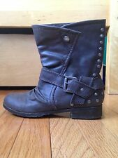 Material Girl Studded Boots: Fashion - Ankle US Shoe Women's Size 7