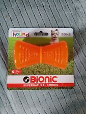 Outward Hound Bionic Bone Orange S M Dog Chew Toy