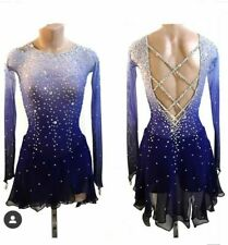 Custom Girls  Ice Figure Skating Dresses Girl Competition Skating Dress A616