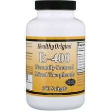 Pure Natural Vitamin E-400 IU 360 Capsules | Natural Mixed Tocopherols