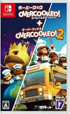 Overcooked Special Edition + Overcooked 2 Nintendo Switch Pocket Game software