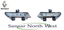 NEW Genuine Renault Clio IV - Pair Of Front Daytime running Lamps Lights DRL LED