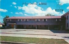 Billings Montana~Thunderbird Lodge~Tom & Louis O'Malley~1960s Postcard