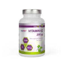 Vita2You Vitamin K2 - 200µg - 180 Kapseln - Natürliches Menaquinon MK-7
