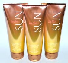 New 3 Bath & Body Works In The Sun Body Cream 24 Hr Moisture Shea 8 Oz Tube