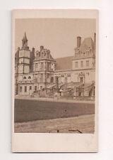Vintage CDV Palace of Fontainebleau  or Château de Fontainebleau