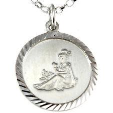 VERGINE argento sterling SEGNO ZODIACALE - The maiden ciondolo zodiaco con