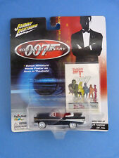 Voiture 1/64 - Johnny Lightninig - James Bond 007 - 57 Chevy ragtop - Dr No