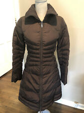 Moncler brown down puffer coat - Sz 0 - GENTLY WORN & AUTHENTIC