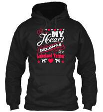 My Heart Belongs To Lakeland Terrier - A Gildan Hoodie Sweatshirt