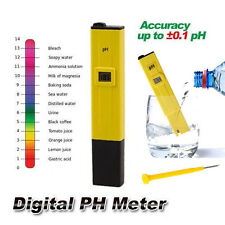 Medidor de PH Digital Tester LCD Precision Para Agua Piscina Aquario Cultivo Hot