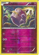 POKEMON CARD XY BREAK-POINT - CLEFAIRY 81/122 REV-ERSE HOLO