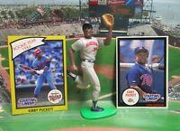 1990  KIRBY PUCKETT Starting Lineup Baseball Figure & 2 Cards - MINNESOTA TWINS