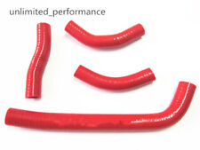 For Honda CRF250R 2010 2011 2012 2013 Red ZAP 3-PLY Radiator Silicone Hose Pipe