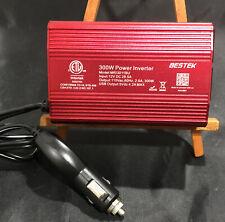 New listing Bestek Mri3011Bu 300W Power Inverter Car Plug In Outlet