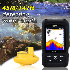 Lucky Rechargeable Fish Finder Colored LCD Wireless Sonar Sensor FF-718LiC-W