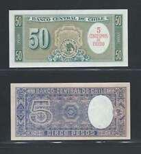 Chili  Lot de 2 billets différents  en état NEUF Lot Numéro 1