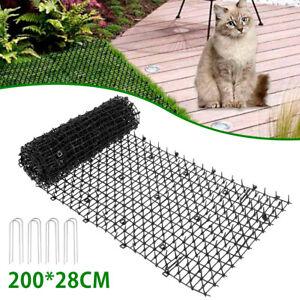 Cat Scat Mat Spike Cat Pest Deterrent Garden Repellent Animal Scarer For Home