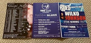 Wilco Johnson,Chas & Dave,Adam Ant, Chantel McGregor + various others Tour Flyer