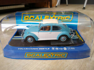 Scalextric C3204 VW Beetle 1963 Mint Boxed Very Rare