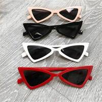 Fashion Women Vintage Triangle Sunglasses Anti-UV Glasses Retro Cat Eye Eyewear