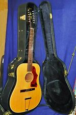 Solid 1968 GIBSON B-45-12N Acoustic 12-String, VG'd Cond. HSC, Plays Great!