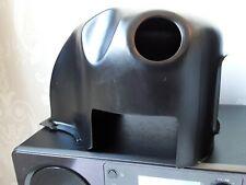 Lambretta TS1 cylinder cowling in powder coated satin black